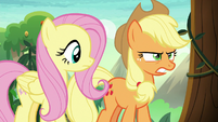 Applejack determined to make Kirin speak S8E23