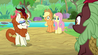"Autumn Blaze ""I'll be right back"" S8E23"