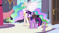 Celestia excited about the Celebration S4E01
