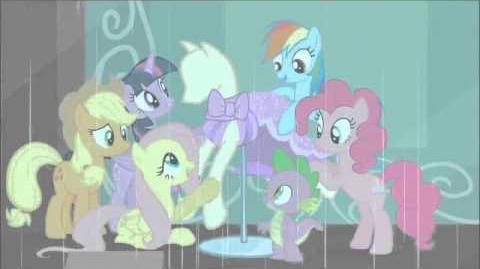 Finnish My Little Pony Generosity Song - Reprise HD
