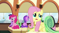 "Fluttershy ""I don't have the snacks"" S9E26"