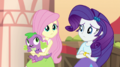 Fluttershy and Rarity look at each other EGS2.png