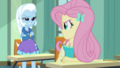 Fluttershy looking offended at Trixie EGDS10.png