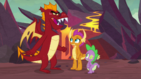 """Garble """"not hanging out with him"""" S9E9"""