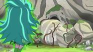 Gloriosa Daisy seals up the cave entrance EG4