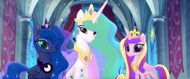 MLP The Movie Videocine - Luna, Celestia, and Cadance