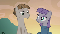 Maud Pie and Mudbriar look at each other S8E3