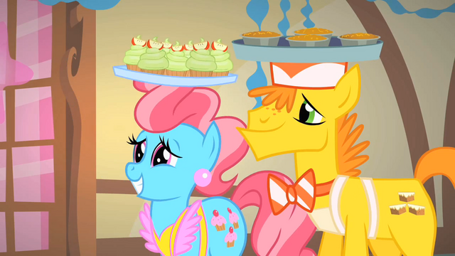 File:Mr. and Mrs. Cake being presentable S1E22.png