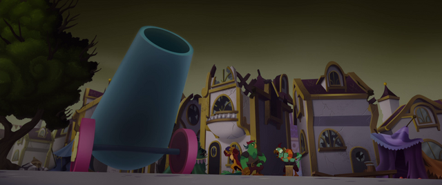 File:Party cannon pointed toward the sky MLPTM.png