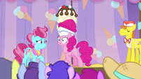 Pinkie's eyes widen with excitement MLPS5