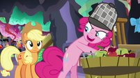 "Pinkie Pie ""I'll catch her in the act"" S7E23"
