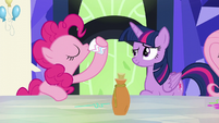 Pinkie Pie sips the potion again S5E22