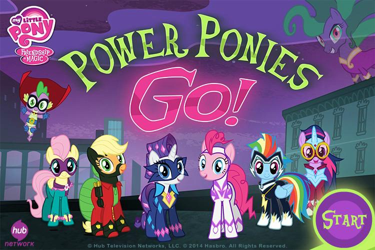 Power Ponies Go My Little Pony Friendship Is Magic Wiki Fandom