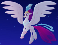 Queen Novo Hippogriff form ID MLPTM