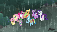 "Rainbow Dash ""I can't stop that storm"" S8E25"