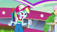 "Rainbow Dash ""she's our friend now!"" EGSB"