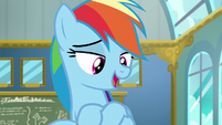 Rainbow Dash --you'll have to in the solo trials-- S6E24
