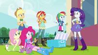 Rainbow Dash asks where Twilight is EGS1