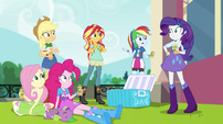 Rainbow Dash asks where Twilight is EGS1
