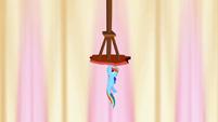 Rainbow Dash holding up column 1 S2E14