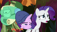 "Rarity ""I can't believe you've never told us"" S8E13"