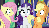 "Rarity ""we certainly had a good time"" S7E2"