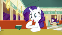 Rarity --I realize that makes me sound like an old mare-- S6E9