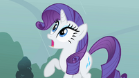 Rarity doesn't want to get wet S1E08