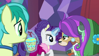 Rarity takes Yona's lucky pot S9E7