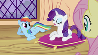 Rarity telling lesson S2E03
