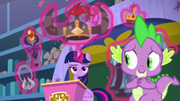 "Spike ""not that I tasted them"" S8E15"