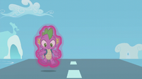 Spike realizes he's floating S5E25