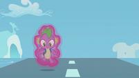 Spike realizes he's floating S5E25