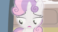 "Sweetie Belle ""Rarity wasn't trying to steal the spotlight"" S4E19"