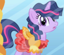 "Twilight ""too poofy"" outfit ID S1E1"