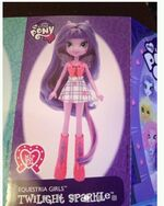Twilight Sparkle Equestria Girls doll pamphlet