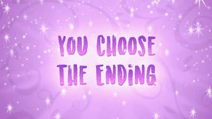 You Choose the Ending title card CYOE