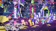 Another confetti cannon goes off S5E3