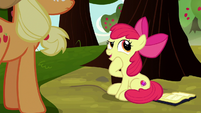 "Apple Bloom ""if I went to Twilight's school"" S8E12"