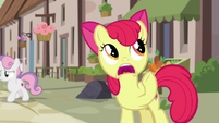 Apple Bloom calls out to Big McIntosh again S7E8