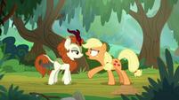 "Applejack ""just say somethin'!"" S8E23"