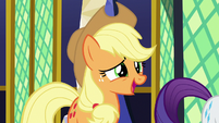 "Applejack ""who gets what deliveries"" S9E26"