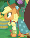 Applejack bridesmaid dress ID S9E23