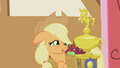Applejack with her trophy S1E04.png