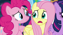 "Fluttershy ""can't really be gone"" S9E2"