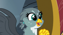 Gabby inspired by Pinkie Pie and Rainbow Dash S6E19