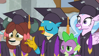 "Gallus ""now that we've saved Equestria"" S8E26"