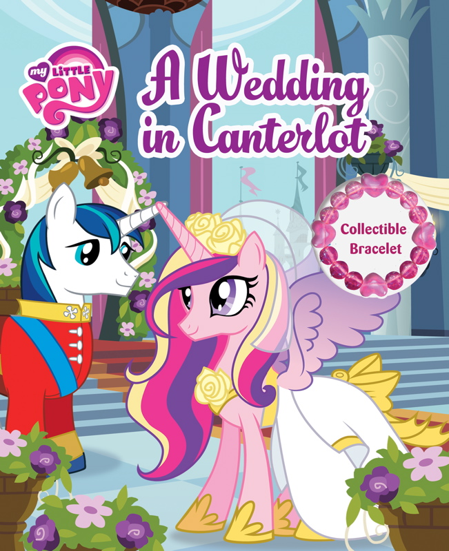 My Little Pony Wedding: MLP A Wedding In Canterlot Storybook Cover.jpg