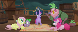 MLP The Movie Videocine - Twilight charting a course