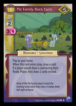 Pie Family Rock Farm card MLP CCG